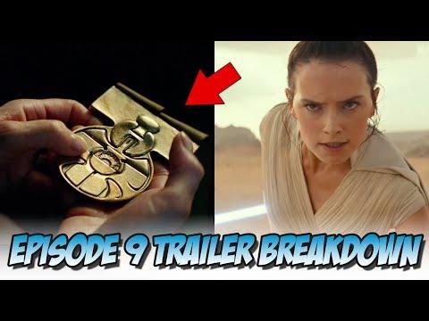 Star Wars: Episode IX - Official Trailer | Breakdown (Shot by Shot)