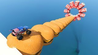 MEGA RAMP CHEESEBURGER !