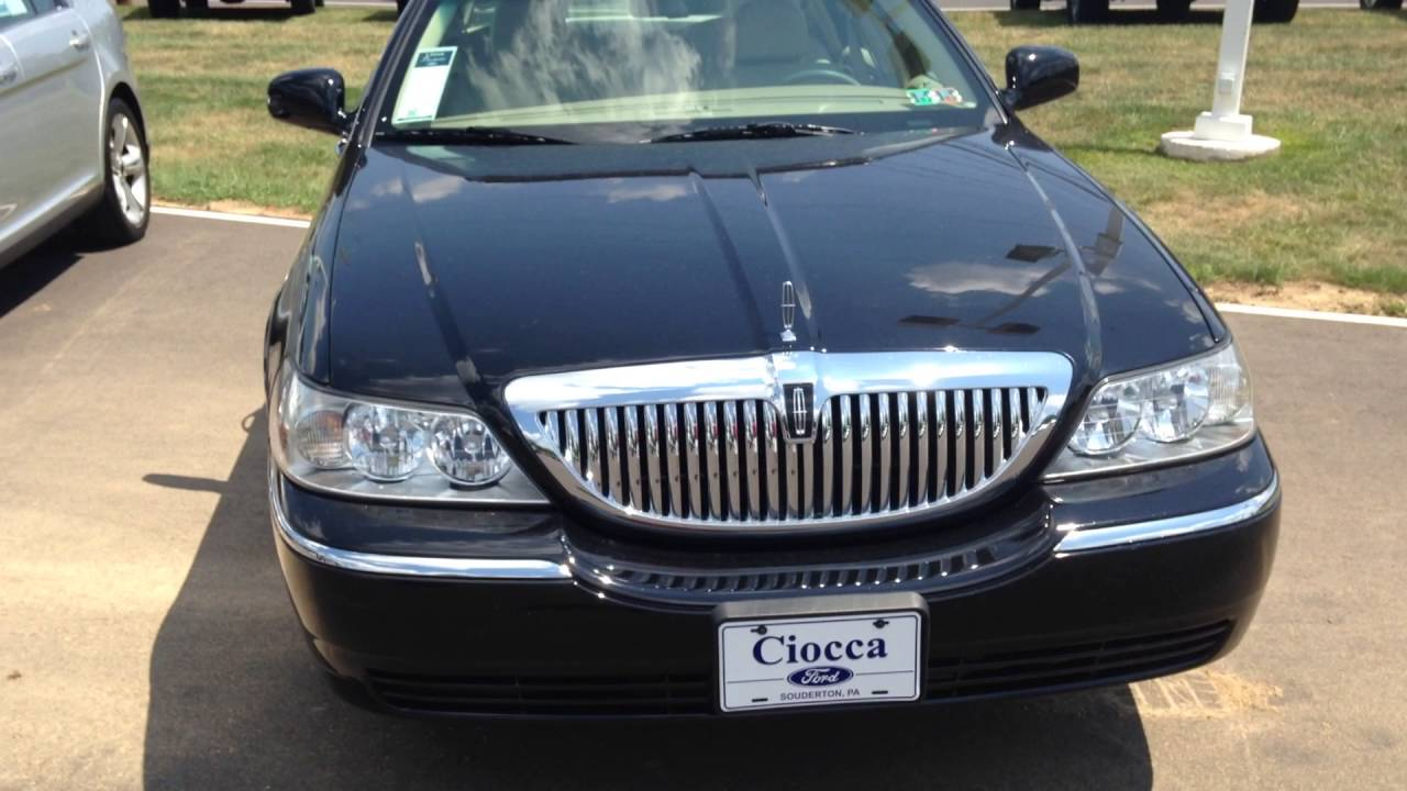 2006 Lincoln Town Car Signature 10 999 Youtube