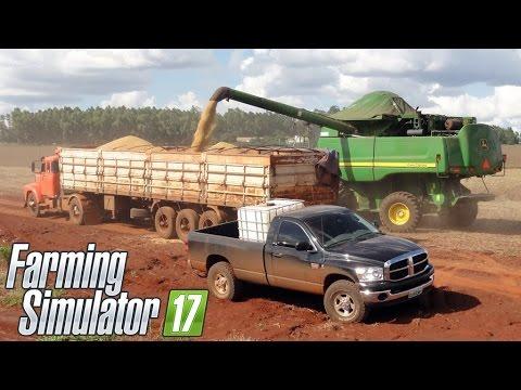 Fazenda Nova Mutum [Mapa Fazenda AGRO VERDE] - Farming Simulator 2017 + Logitech G27!!