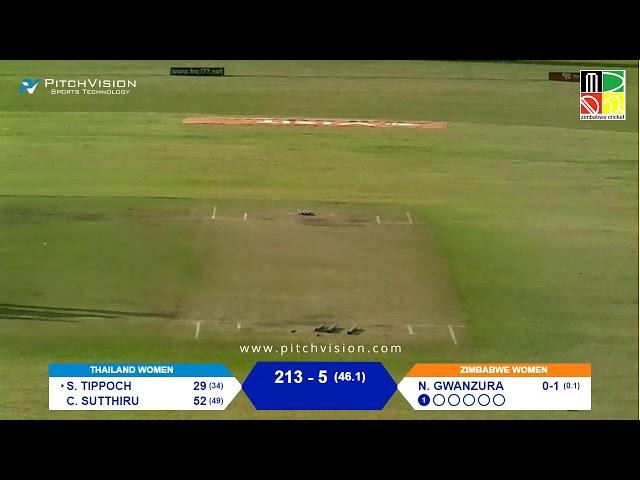 Zimbabwe Women vs Thailand Women | 4th One Day