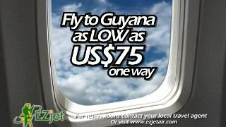 Fly to Guyana