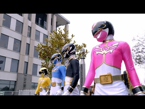 Power Rangers Megaforce - Stranger Ranger - Power Rangers vs Dragonflay