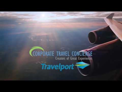 Corporate Travel Concierge, with TravelPort | We're there !