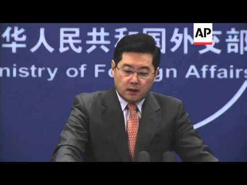 Foreign ministry spokesman on Ukraine and Kunming attack
