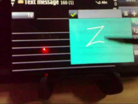 Handwriting On The Nokia 5800 XpressMusic