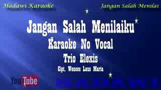Karaoke-jangan salah menilaiku