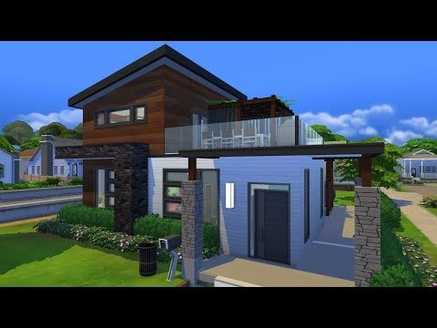 Modern Living [The Sims 4 Speed Build]