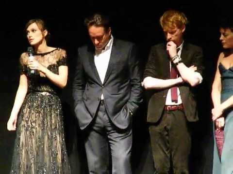 Anna Karenina premiere Q&A at Toronto Film Festival - September 7, 2012