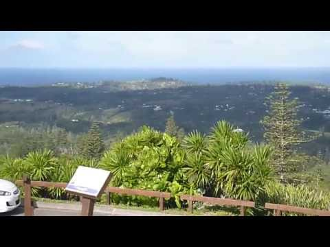 View Of Norfolk Island From It's Highest Point! Most Beautiful Place In The World, Part 2!