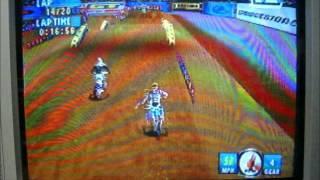 Jeremy McGrath Supercross 2000 N64 250cc Supercross Race