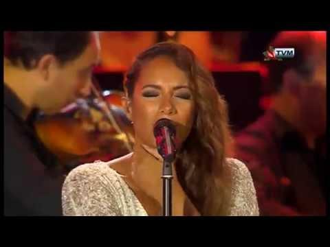 Leona Lewis in Malta - Joseph Calleja Concert 2014
