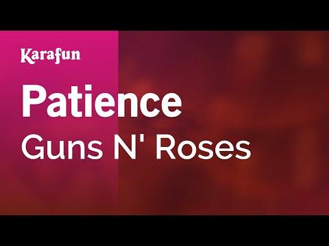 Karaoke Patience - Guns N' Roses *