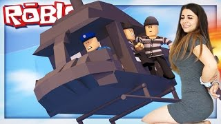 ROBLOX GIRLS PRISON ESCAPE!?!? Roblox Prison Life W/ Azzyland (Roblox Gameplay)