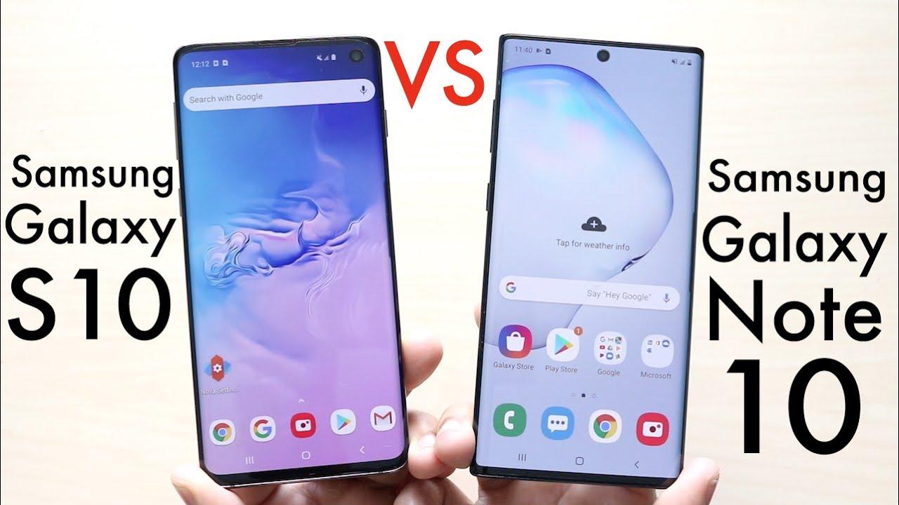 Samsung Galaxy Note 10 Vs Samsung Galaxy S10! (Comparison