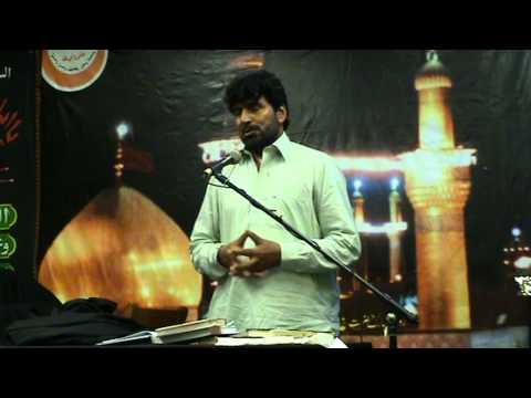 akhtar khokhar bcn 21 08 2011 shahadat mola ali a s  20 ramazan in spain barcelona  day 1  6