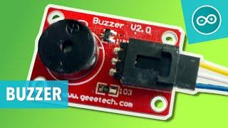 #10 Geluid uit een buzzer/beeper/piezo speaker