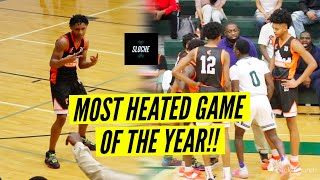 FIGHT ALMOST BREAKS OUT!! 4⭐️ Daeshun Ruffin Showed OUT in Playoff Game!
