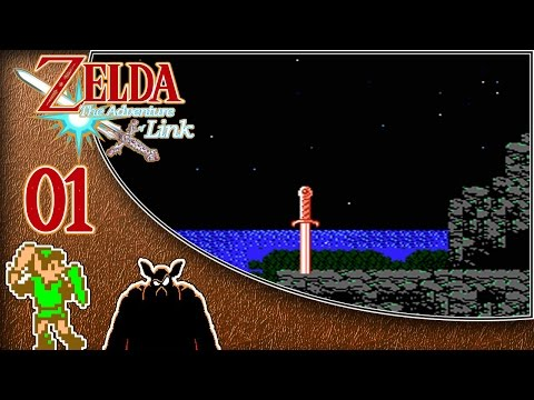 NES | Guía The Legend of Zelda II The Adventure of Link #1 | Comienzo y Palacio Parapa