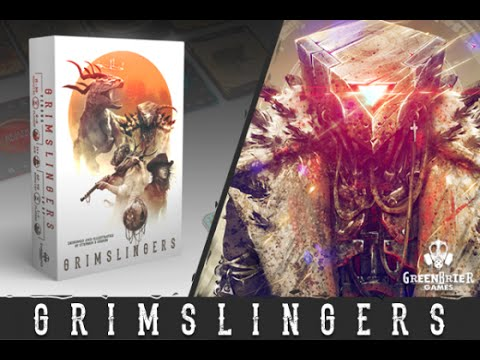 Grimslingers by Greenbrier Games Unboxing