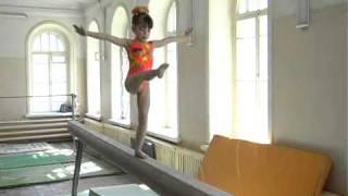 Спортивная гимнастика: первенство города.