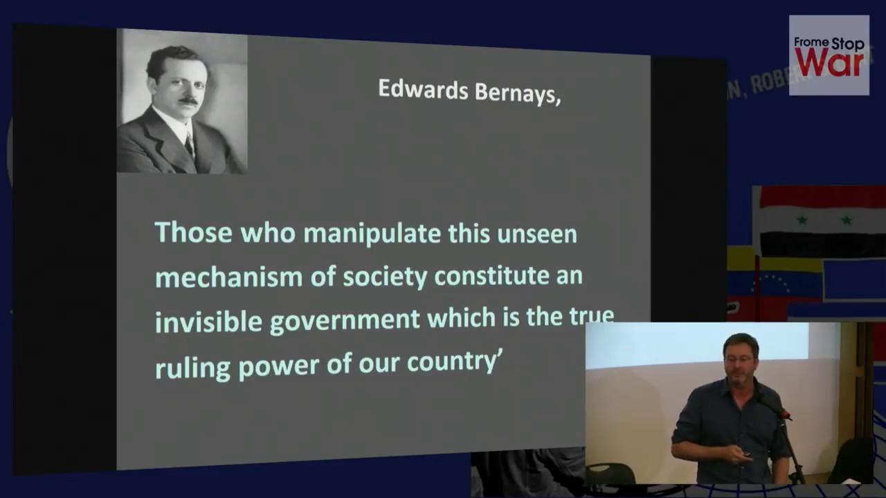 Propaganda, Deception and the War on Terror: Prof. Piers Robinson, Media on Trial, 19 October 2017