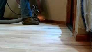 Hardwood Floor Refinishing; The Sanding & Filling Process