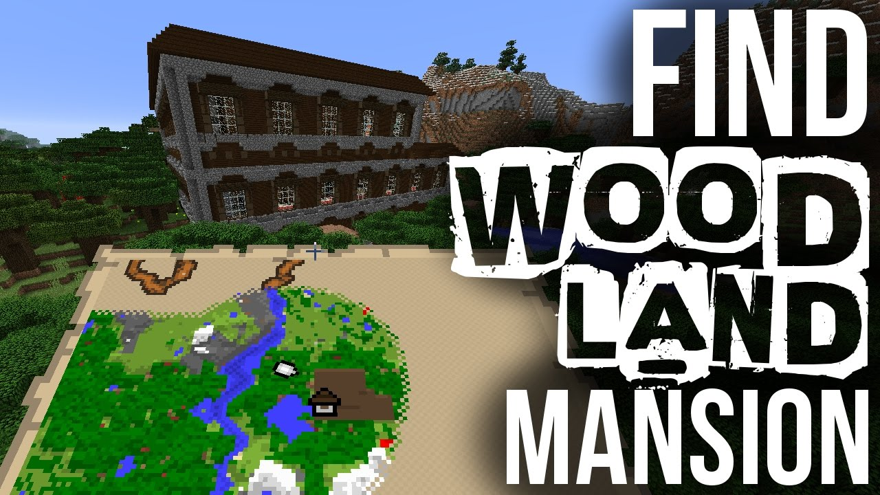 How to find woodland mansions minecraft youtube publicscrutiny