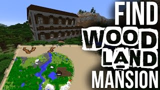 How To Find Woodland Mansions - Minecraft