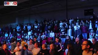 ELECTRIC 50/50 ATMOSPHERE BEFORE FIGHT OF THE YEAR CONTENDER: WOODSTOCK V SHARPE