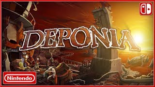 DEPONIA - Nintendo Switch Announcement Trailer (2019) HD