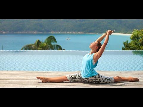 yoga easy way splits stretching short classlina