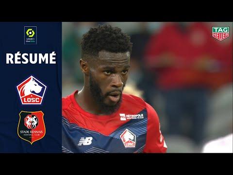 LOSC - Stade Rennais FC ( 1-1 ) - Résumé - (LOSC - SRFC) / 2020-21
