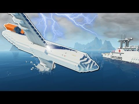 PLANE & SINKING SHIP SURVIVAL! - Stormworks: Build and Rescu