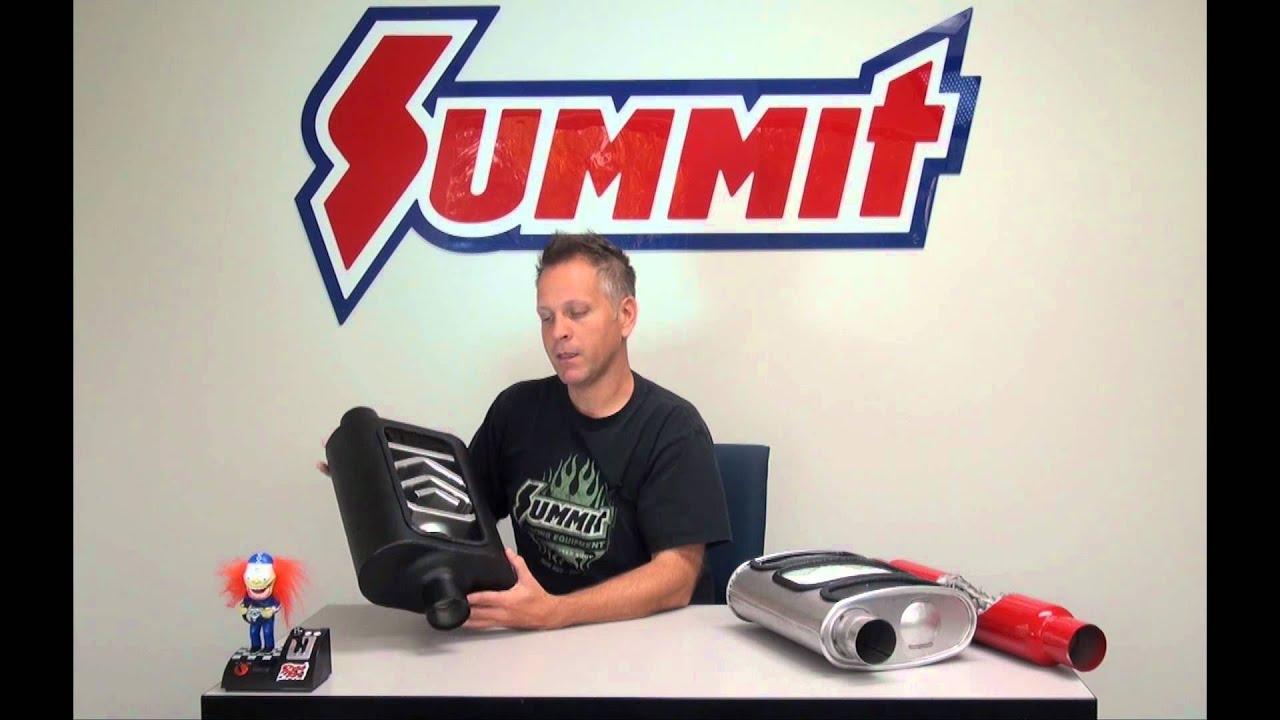 Glass Designs Chambered Turbo And Glasspack Muffler Summit Racing