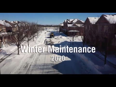 City of Markham 2020 - 2021 Winter Maintenance
