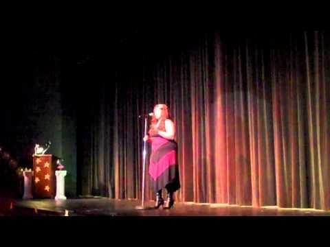 Methodist University, Alexis Howard sings Summertime
