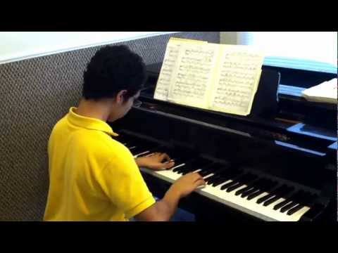 Waltz in D flat major by Chopin.., with Nicholas Mora at The Spirit Of Music Arts Academy...