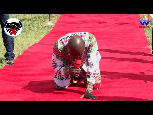 #EjohezaNews: Umukuru w'igihugu Petero NKURUNZIZA asengera igihugu n'amatora ngo bizobe vyiza