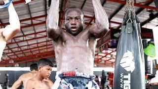 Umar Semata training for fight vs Moses Golola