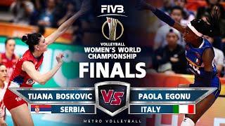Volleyball Battle: Tijana Boskovic VS Paola Egonu l Women Volleyball World Championship 2018