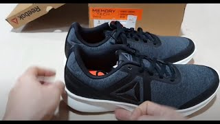 SIZE 42 - ORIGINAL ASLI REEBOK CROSSFIT SPEED BREEZE MEMORYTECH HITAM ABU BNIB RESMI SEPATU RUNNING LARI FITNESS GYM Not adidas nike hoka brooks