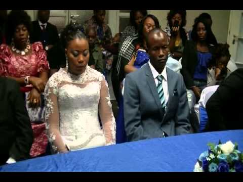 EXTRAIT DE MARIAGE CIVIL AL AMBASSADE RDC NAMIBIA