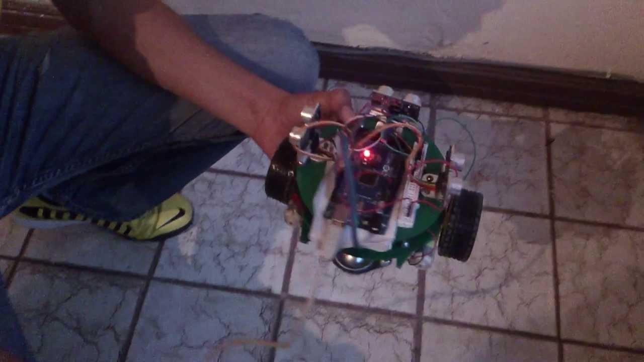 Robot de laberinto con arduino mega youtube