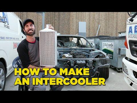 How to Make an Intercooler