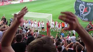 SK Slavia Praha – FC Viktoria Plzeň  5.05.2018  děkovačka