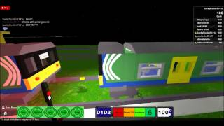 CTT Train Driving on Roblox from LuckyBuster5141u