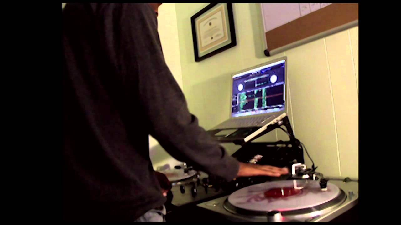 audio technica lp120 mixing with serato youtube. Black Bedroom Furniture Sets. Home Design Ideas
