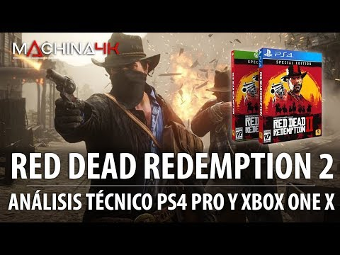 Analisis Red Dead Redemption 2 4k | Analisis Tecnico En Xbox One X Y Ps4 Pro