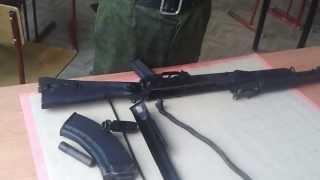Сборка и разборка АК-47 от Саши Белого